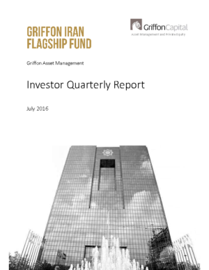 Investor Quarterly Report – July 2016