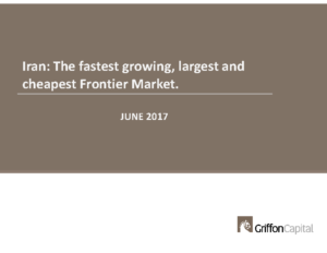 Iran – the fastest growing largest and cheapest frontier market
